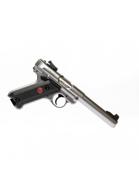 """Ruger MK IV Target cal. 22 L.r 5,5"""" Stainless"""