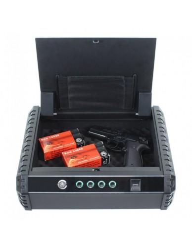 Rottner Gunmaster XL Pistolenkassette mit Fingerprint