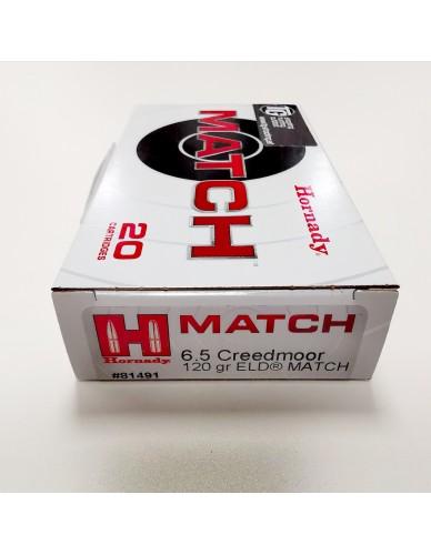 Hornady Match 6,5 Creedmoor 120gr ELD Match