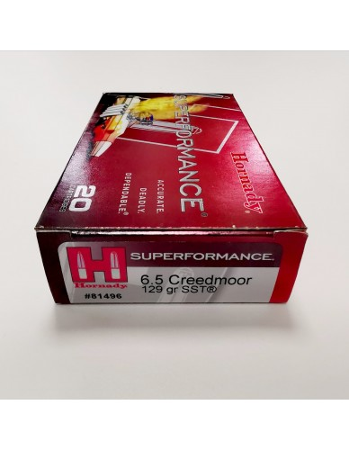 Hornady Superformance 6,5 Creedmoor 129gr SST