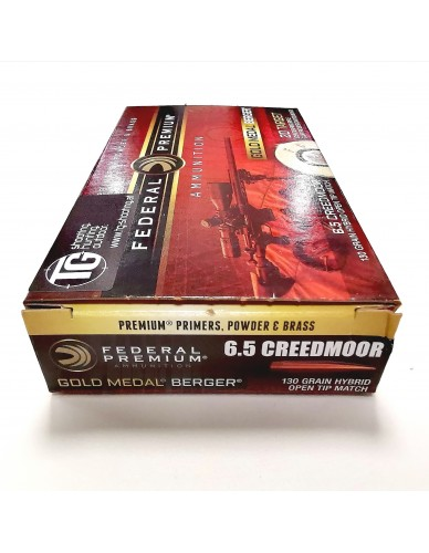 Federal Premium 6,5 Creedmoor Gold Medal Berger 130gr