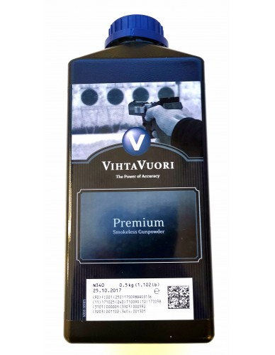 VihtaVuori N340 NC Treibladungspulver 0,5kg