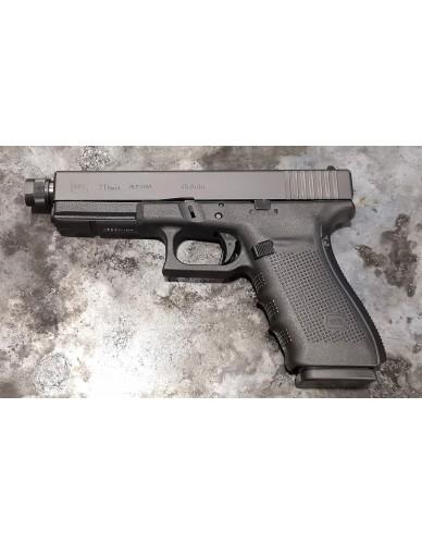 Glock 21 Gen.4 cal. 45ACP mit Gewindelauf M16x1 links