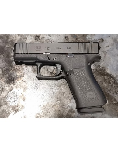Glock 43X cal. 9x19 TG-Shooting Edition mit Trijicon Visierung