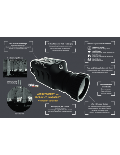 HEIMDALL Thermal Vision Vorsatz- u. Beobachtungsgerät