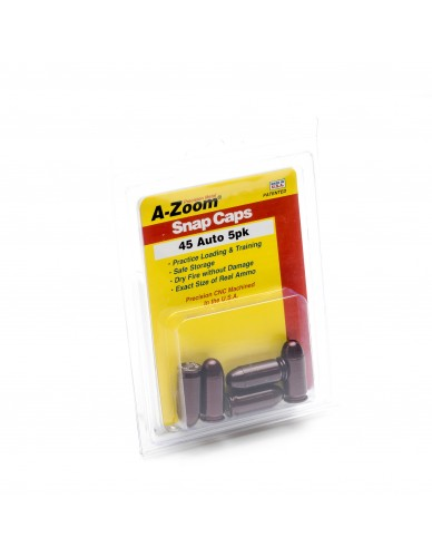 A-ZOOM Pufferpatronen 45 ACP 5Stk. Packung