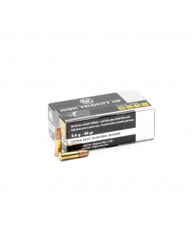 RWS 22LR FIELD LINE HOLLOW POINT 2,6 G 50 STK