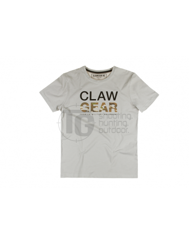 Clawgear MC Tee Light Grey
