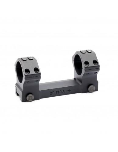Recknagel Blockmontage D30mm Kurz mit Hebel, Höhe 15mm